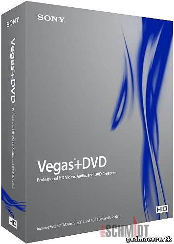Программа Sony Vegas 6.0b и 7.0b для создания видео как и в